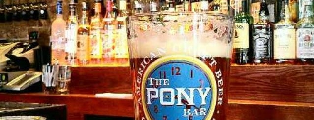 The Pony Bar is one of Manhattan Drinks.