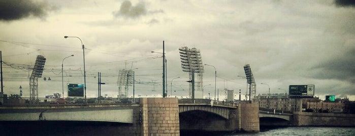 Tuchkov Bridge is one of DONE.