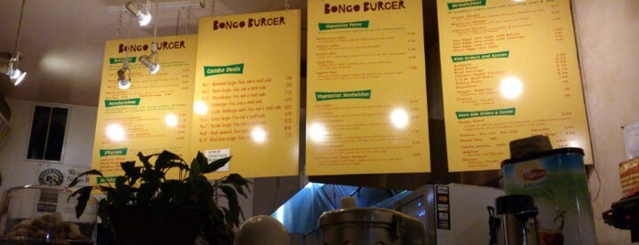 Bongo Burger - Downtown is one of SFO Food Todo.