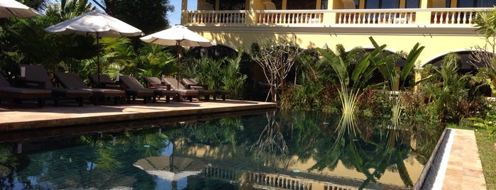 Pavillon D'Orient Hotel is one of Cambodia.