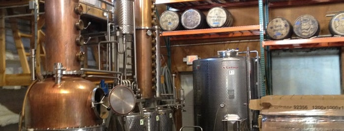 Harvest Spirits Distillery is one of Upstate Downtown.