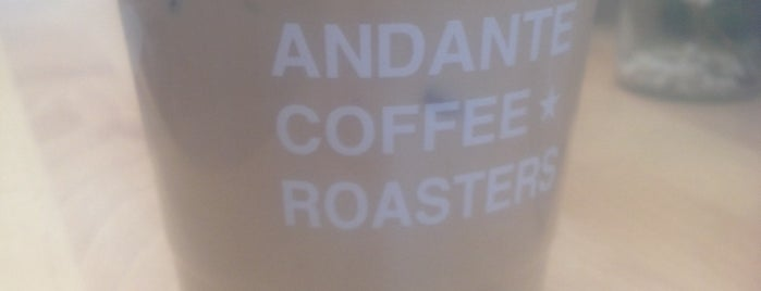 Andante Coffee Roasters is one of Los Angeles Coffee.