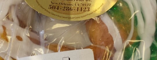 Sweet Savors Bakery is one of N'awlins Newbie.
