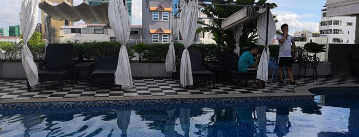 G Mekong Hotel is one of Posti che sono piaciuti a Matthew.