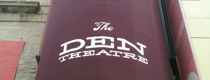 The Den Theatre is one of Meet Your Match in CHI: Urban Intellectuals.
