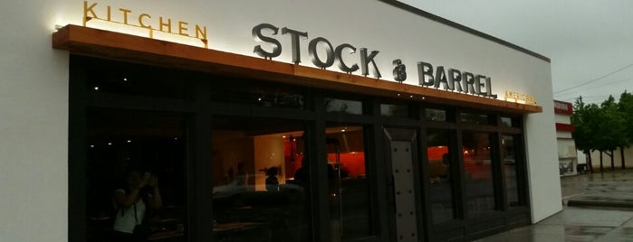 Stock & Barrel is one of Allie's Liked Places.