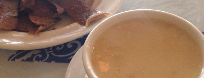 Greek Corner Cafe is one of Tempat yang Disukai Joey.