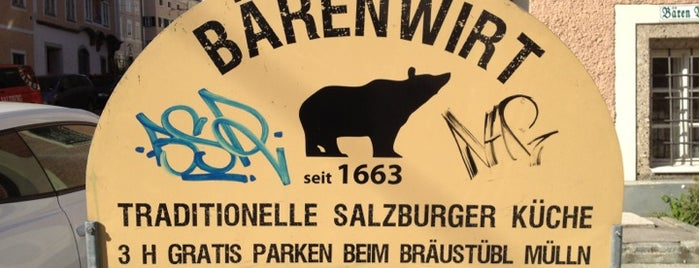 Bärenwirt is one of Salzburg Food Only.