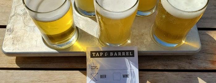 Tap & Barrel is one of Lugares favoritos de Kevin.