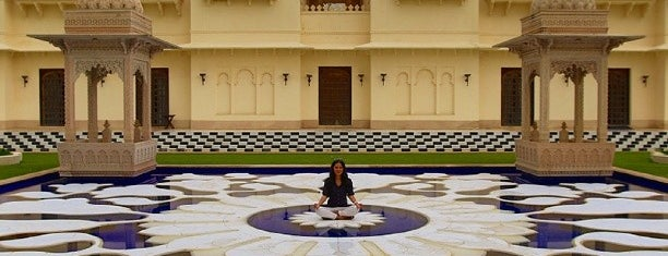 The Oberoi Udaivilas is one of Hotels of the world.