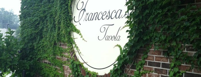 Francesca's Tavola is one of Action Heights.