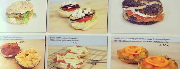 Be My Bagel is one of Barcelona.