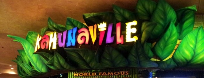 Kahunaville is one of Vegas Places with Check-In Deals.