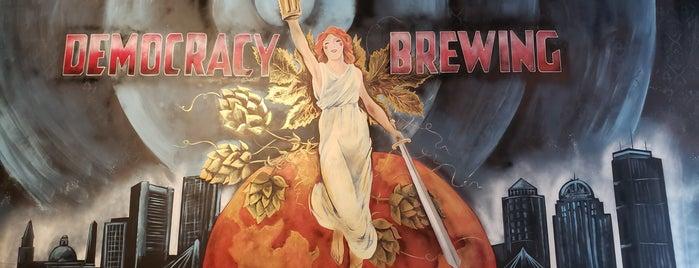 Democracy Brewing Company is one of Rex: сохраненные места.