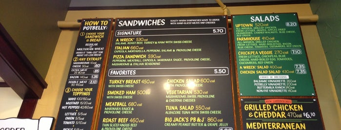 Potbelly Sandwich Shop is one of Boston stuff!.