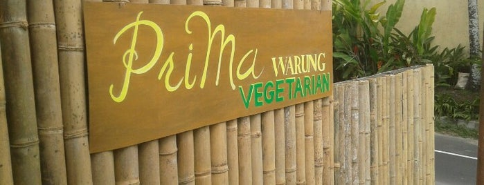 Prima Warung Vegetarian is one of Bali.