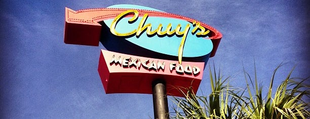 Chuy's is one of Austin.