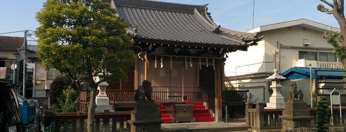 原稲荷神社 is one of 神輿で訪れた場所-1.
