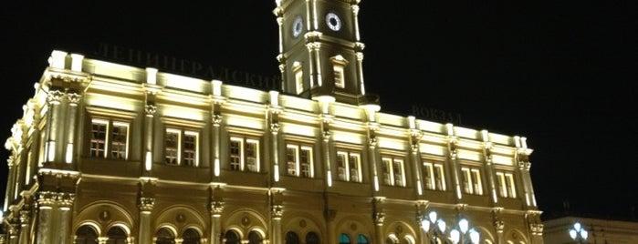 Estación de Leningrado (ZKD) is one of Места, где сбываются желания. Москва.