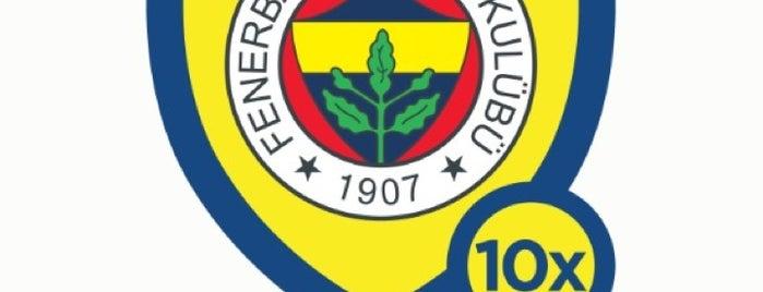 Fenerbahçe SK Samandıra Can Bartu Tesisleri is one of Fenerbahçe SK Badge.