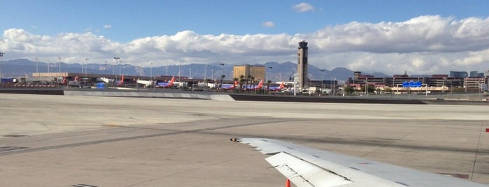 McCarran International Airport (LAS) is one of Las Vegas!.