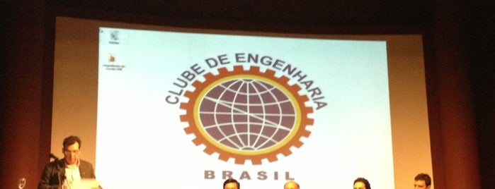 Clube de Engenharia is one of Fabricioさんのお気に入りスポット.