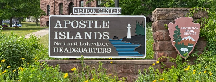 Apostle Island Visitor Center is one of MN north woods: stuff to see and places to ea.