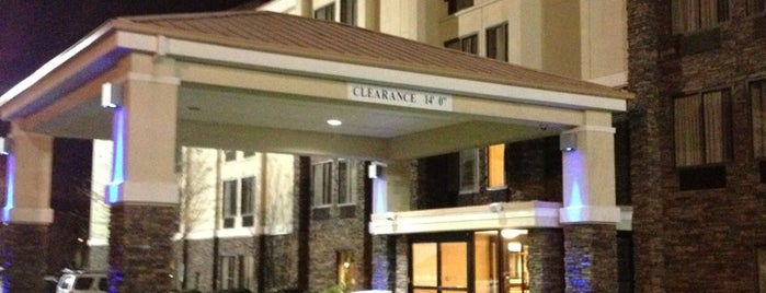 Holiday Inn Express Raleigh-Durham Airport is one of Durham NC.