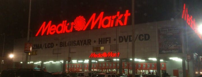 Media Markt is one of istanbul avm.