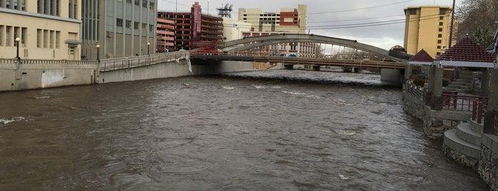 Truckee River is one of Tempat yang Disukai Vince.