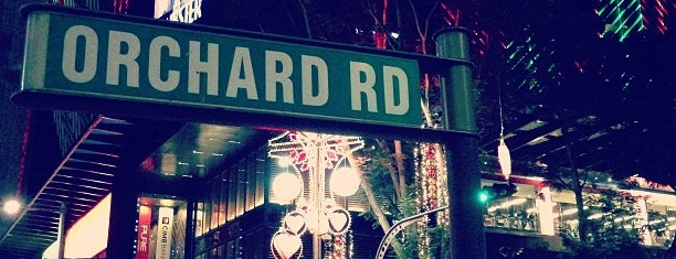 Orchard Road is one of Singapore with Kylie!.