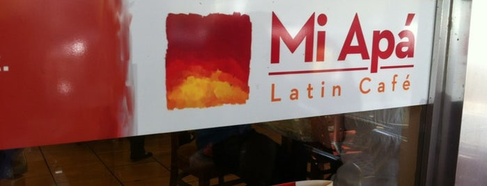 Mi Apá Latin Café is one of Locais salvos de Elle.