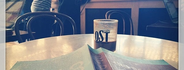OST Cafe is one of New York.