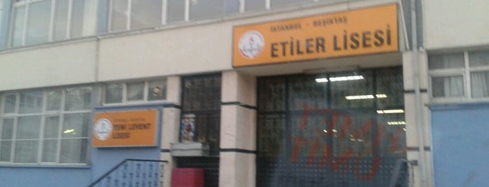 Etiler Anadolu Lisesi is one of Lieux sauvegardés par Sare.