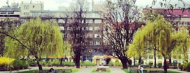Karlovo náměstí is one of prague.