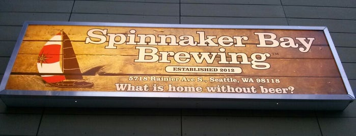 Spinnaker Bay Brewing is one of Seattle Brewpubs, Taprooms and Breweries.
