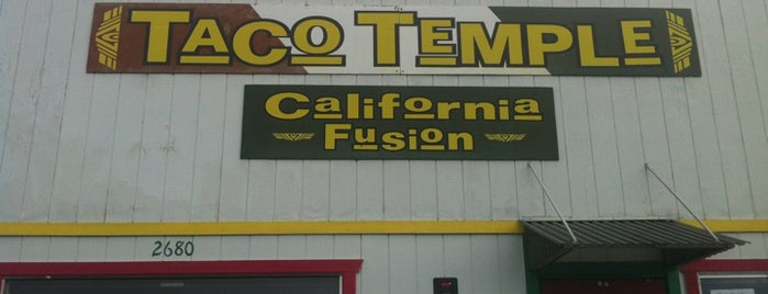 Taco Temple is one of SLO County Top Spots.