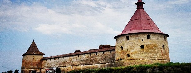 Oreshek Fortress is one of Интересное в Питере.