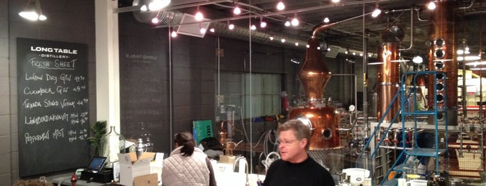 Long Table Distillery is one of vancouver.