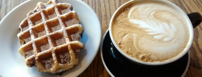 Daily Press Coffee is one of NYC: Fast Eats & Drinks, Food Shops, Cafés.