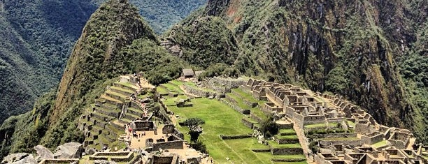 Machu Picchu is one of World Heritage Sites List.