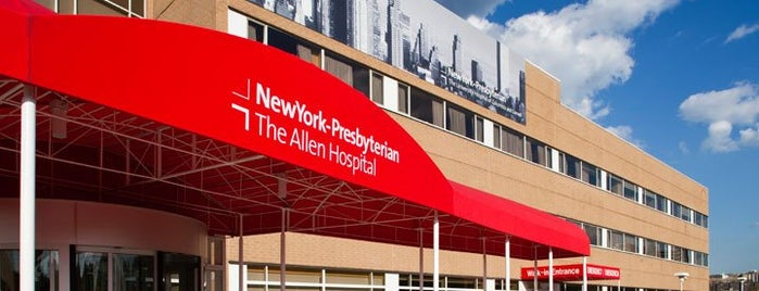 NewYork-Presbyterian/The Allen Hospital is one of Locais curtidos por Jason.