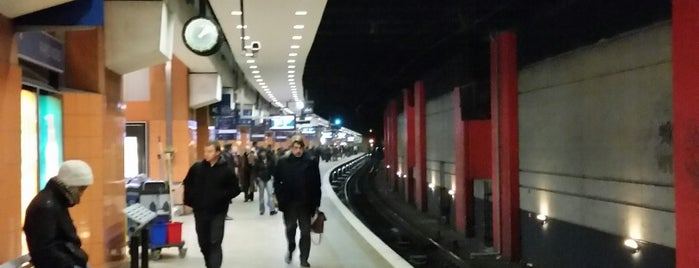 RER Paris Gare du Nord [B,D] is one of Mehmet Nidal'ın Beğendiği Mekanlar.