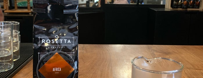 Rosetta Roastery is one of CoffeeGuide..