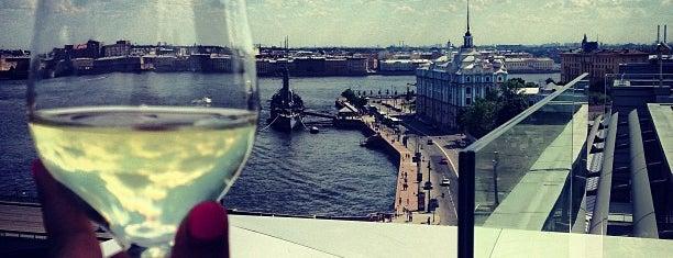 Москва City is one of Saint Petersburg.
