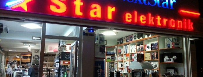 Star ELEKTRONİK DOĞUGARAJI ŞB. is one of Ahmet Murat : понравившиеся места.