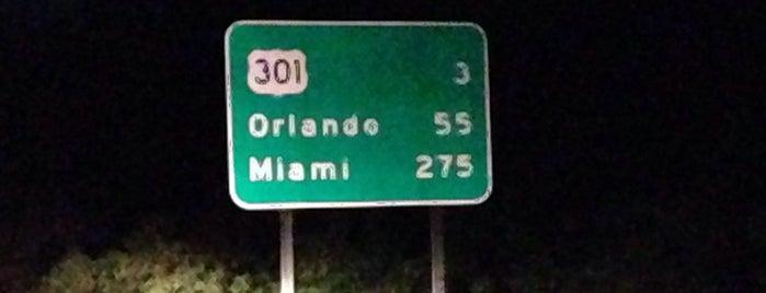 Florida Turnpike South is one of Locais curtidos por Jeff.