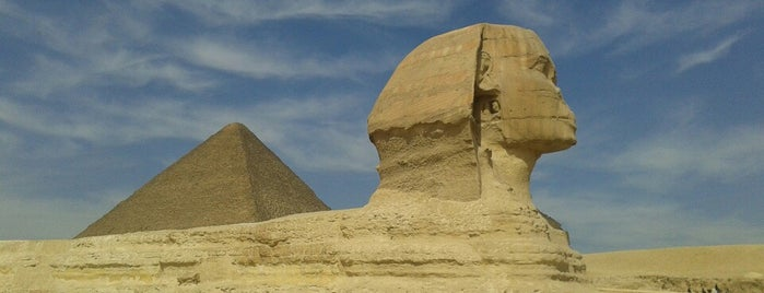 Great Sphinx of Giza is one of Egypt..