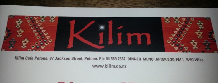 Kilim is one of Lieux sauvegardés par Anca.
