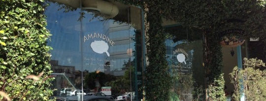 Amandine Patisserie Cafe Brentwood is one of La list.